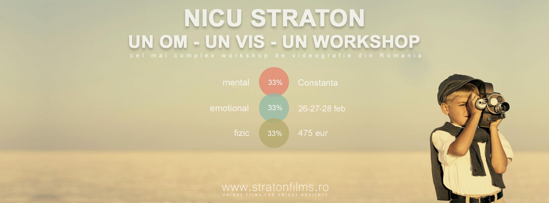WORKSHOP VIDEOGRAFIE DE NUNTA : NICU STRATON